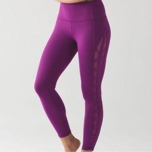 Lululemon Athletica purple leggings